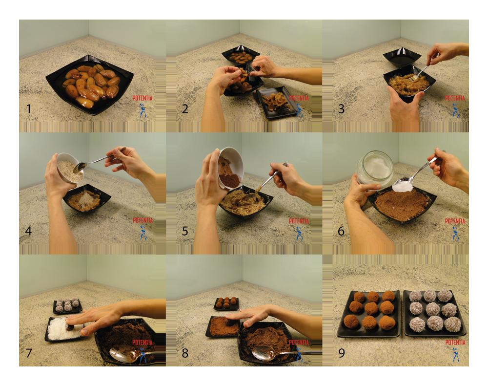 Energijske kroglice-postopek