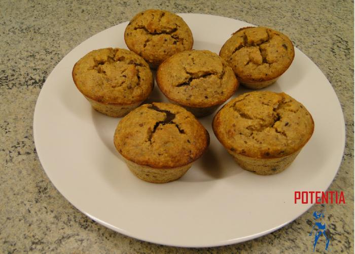 Beljakovinski muffini