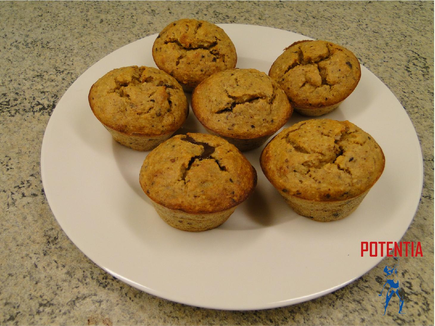 5. Beljakovinski muffini