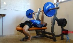 Odpravljanje šibkih točk - potisk s prsi, 3.del