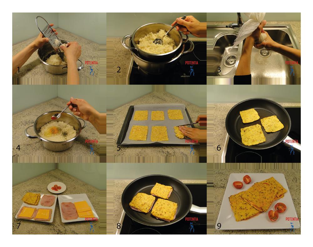 Hrustljavi toastki-postopek